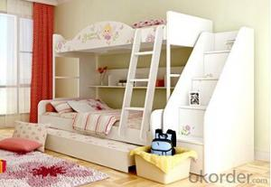 Hot Selling Children Wooden Bunk Bed with Night Stands WB18