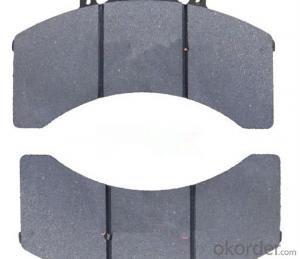 Brake pad  Semi-Metal Brake Pads Wva29090 for Bus and Truck