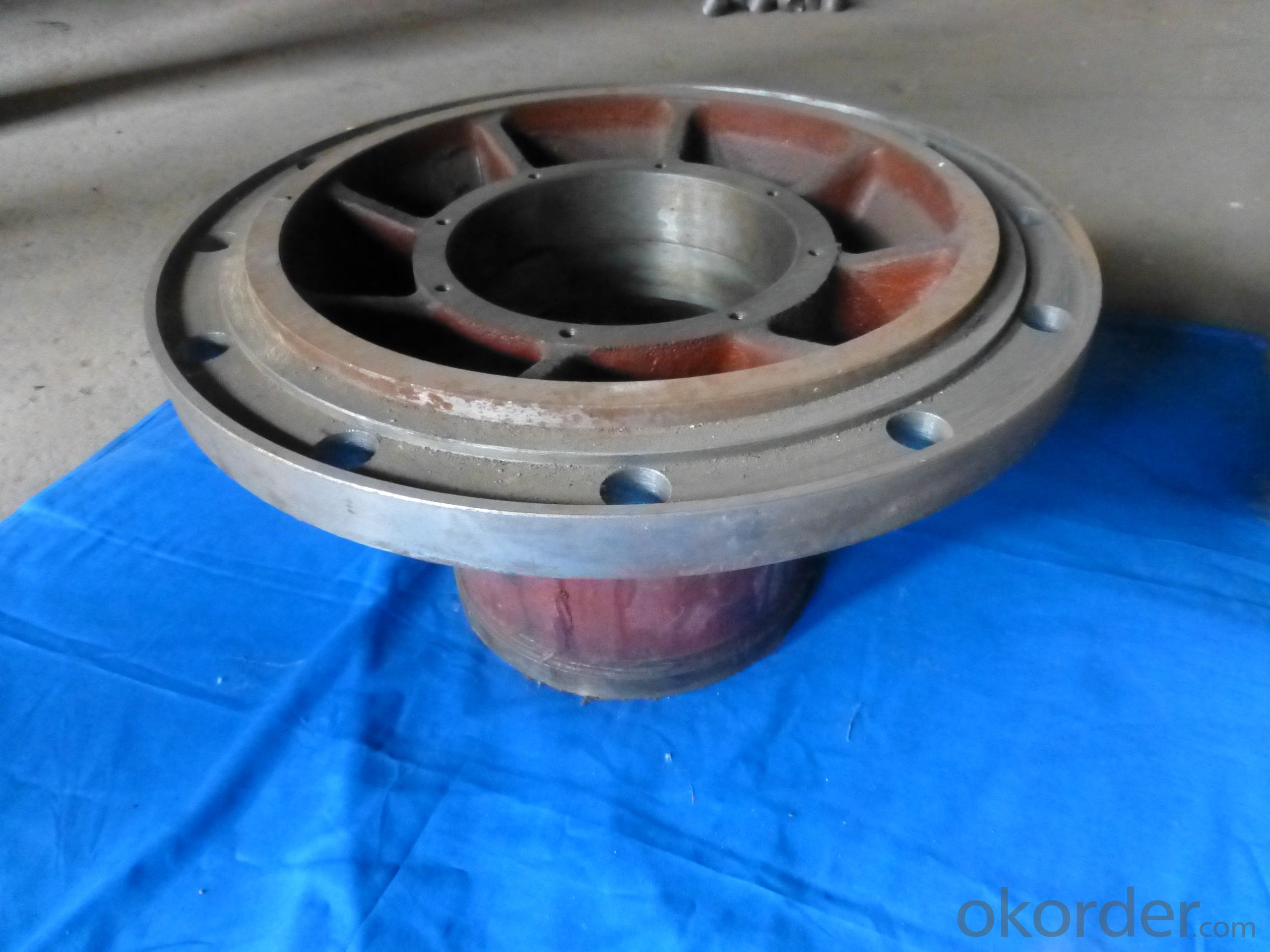 Casting Forging Machining Wheel Hub Weight from:10 kg to 185KG