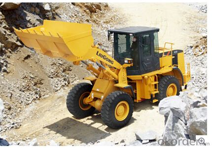 wheel loader CLG835(Cummins), low price