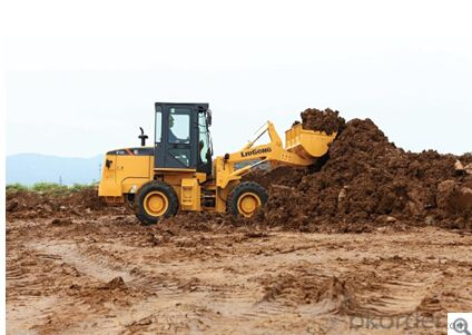 The highest quality wheel loader CLG818C