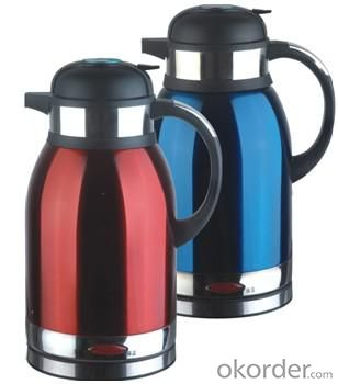 2.0 Litre Double Layers both food grade plastic and 201# S.S. Electric Kettle