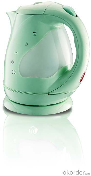 110~130V 1.8 Litre Plastic Electric Kettle with Boil-dry and overheat protection