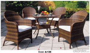 Hot sale Leisure Garden Rattan Outdoor Furniture   A-139