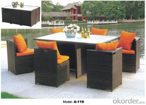 Hot Sell Outdoor furniture Rattan Garden Furniture   A-119