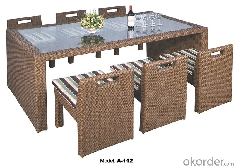 New design Rattan Garden Furniture Outdoor furniture  A-112