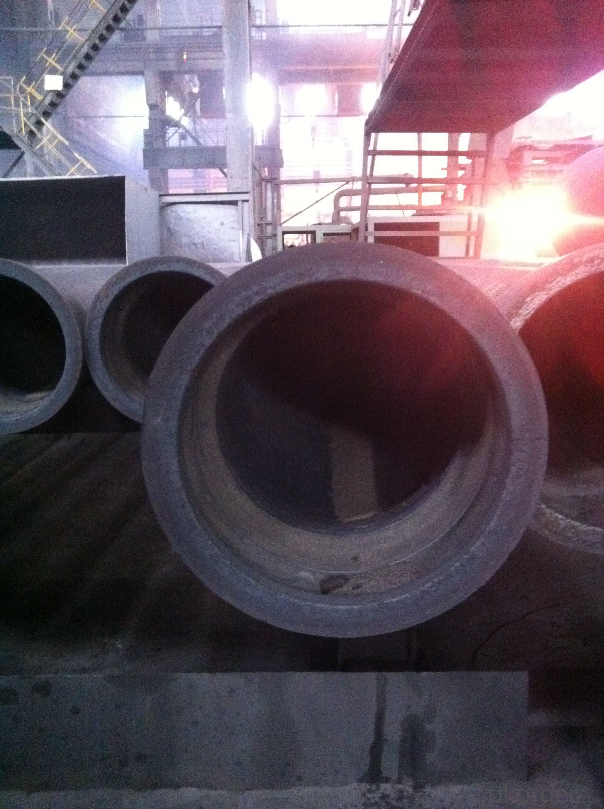 DUCTILE IRON PIPE AND PIPE FITTINGS K8 CLASS DN1200