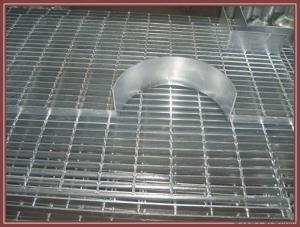 Aluminium Grating Stair Tread Carbon Steel Or Stainless Steel