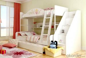 Hot Selling Children Wooden Bunk Bed with Night Stands WB19