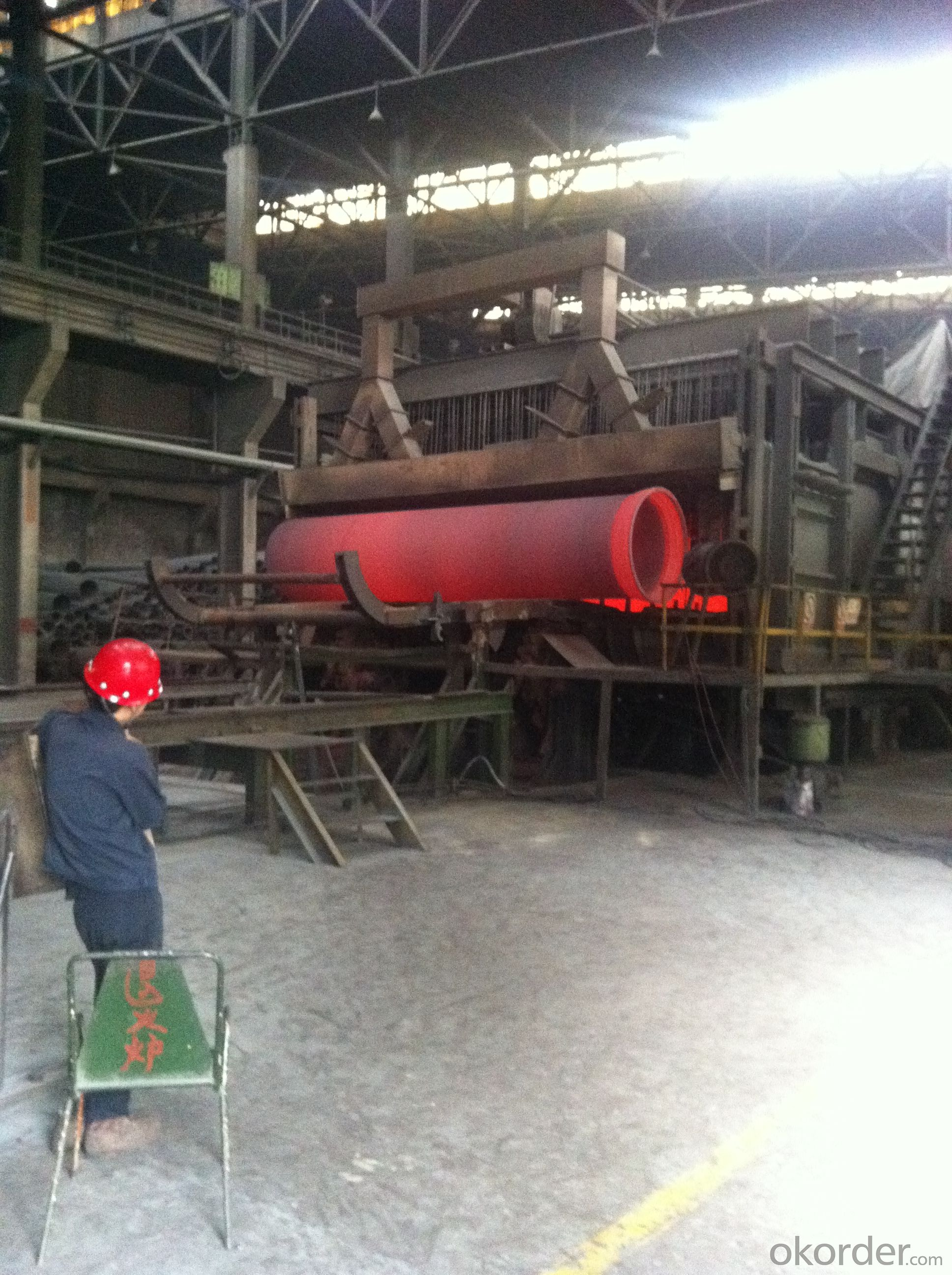 DUCTILE IRON PIPE AND PIPE FITTINGS K9 CLASS DN600