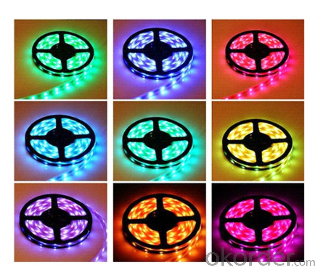 LED Strip Light DC 12V/24V,SMD 3528-120LEDS PER METER  IP20 INDOOR