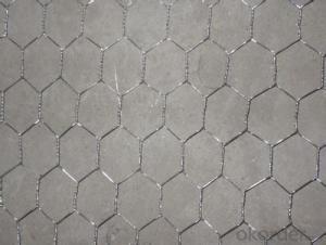 Galvanized Hexagonal Wire Mesh 0.76 mm Gauge