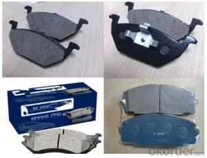100% Asbestos-Free Car Brake Pads for Toyota Prado