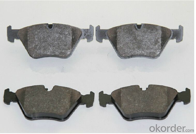 Auto Brake Pads foSemimetallic Asbestos Free for bus