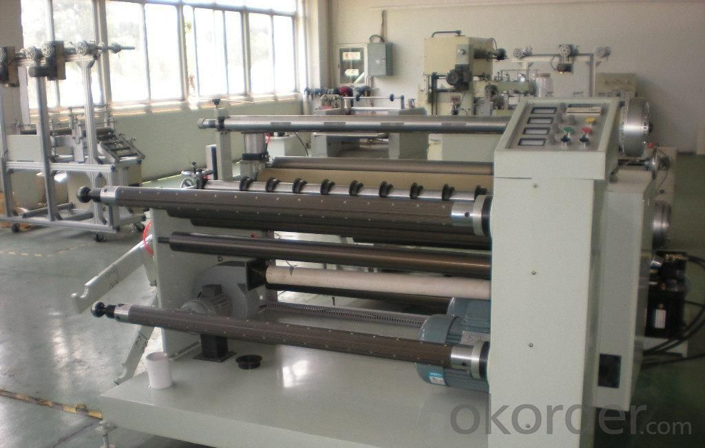 DP-1300 Automatic Paper Roll Slitter Rewinder