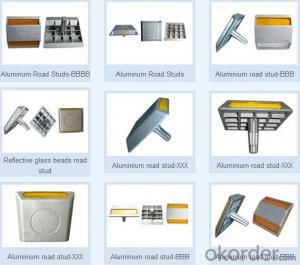 Aluminum Road Stud  Reflective Material PMMA