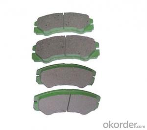 Semi-Metallic Brake Pad Brake Pad for Toyota