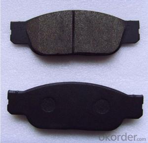 Auto Part Ceramic Disc Brake Pad for Japanese Car