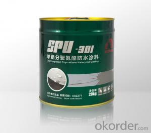 SPU301Single-Component Polyurethane Waterproofing Paint