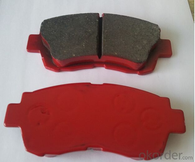 Japanese of Brakes Pads for Toyota Hiace Box Car and Wagon With Test Report