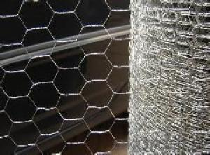Galvanized Hexagonal Wire Mesh 0.55 mm Gauge