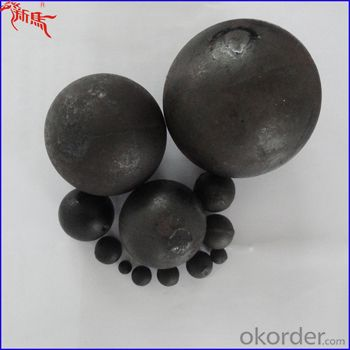 Cement Mill Grinding Media Ball From Ningguo,China