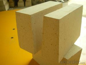 high alumina lightweight refractory brick for glass smelting furnace
