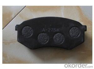 Brake Pad WVA24545 Ceramic or Semi-metallic D1259-8378 brake pad for LINCOLN