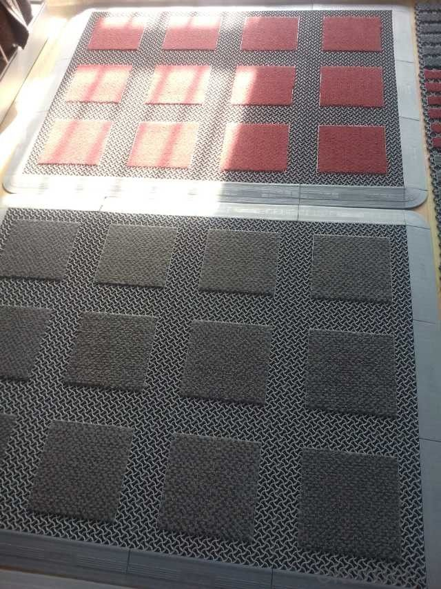 Fabric Door Rugs, Made of Natural Maize, Moisture-proof, Environment-friendly, Come in Various Sizes