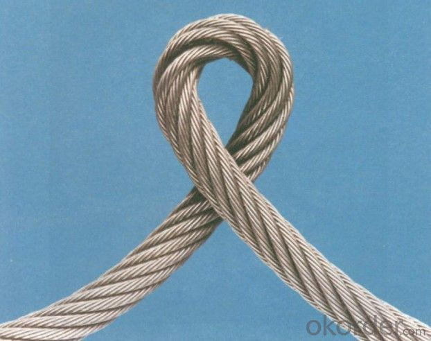 Steel Wire Rope Steel Wire Ropes for Aircraft With High Quality