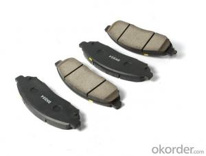 Brake pads Non-Asbestos Car Friction Brake Pads