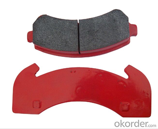 Brake pad  WVA29108 Heavy truck