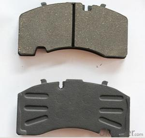 Brake Pad WVA24123 Ceramic or Semi-metallic D1241-8358 brake pad for JAGUAR