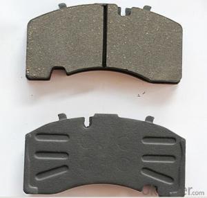 Brake Pad WVA24123 Ceramic or Semi-metallic D1241-8358 brake pad for JAGUAR