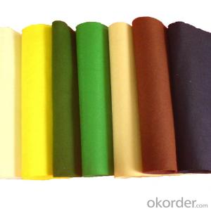 HOT! Good qualiy 100% Wool Felt with many colors for Garment and Shoes