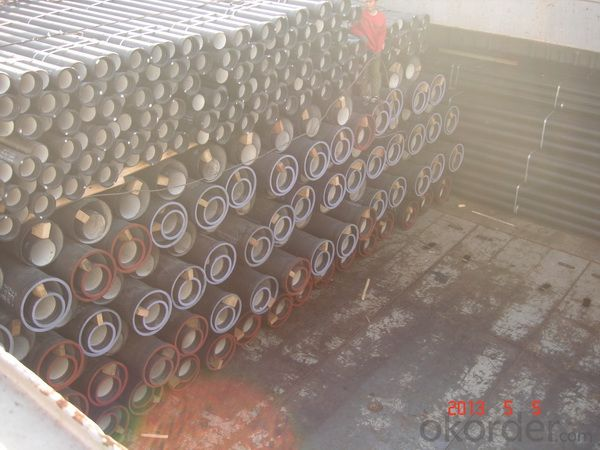 DUCTILE  IRON PIPES  AND PIPE FITTINGS K8 CLASS DN250