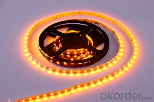 LED Strip Light DC 12V/24V,SMD 3528-60 LEDS PER METER  IP65 PU GLUE OUTDOOR