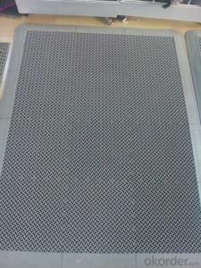 Facric Door Mats, Moisture-proof, Environment-friendly, Come in Various Sizes