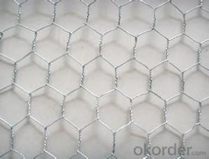 Galvanized Hexagonal Wire Mesh 0.44 mm Gauge