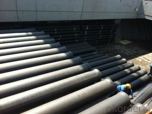 T Type Ductile Iron Pipe DN1400 socket spigot pipe