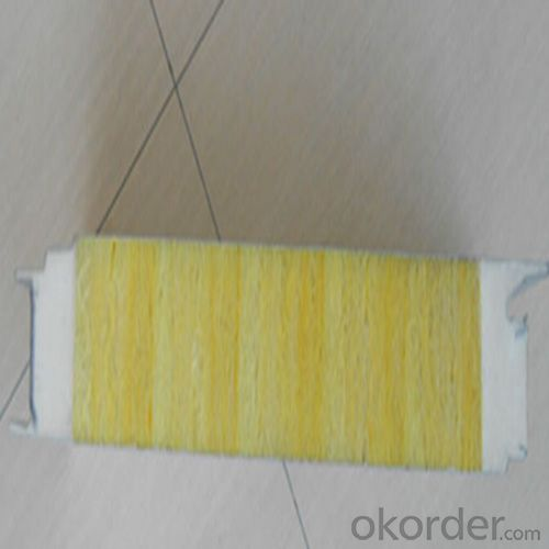 Popular Glass Wool Sandwich Panel with High Quality