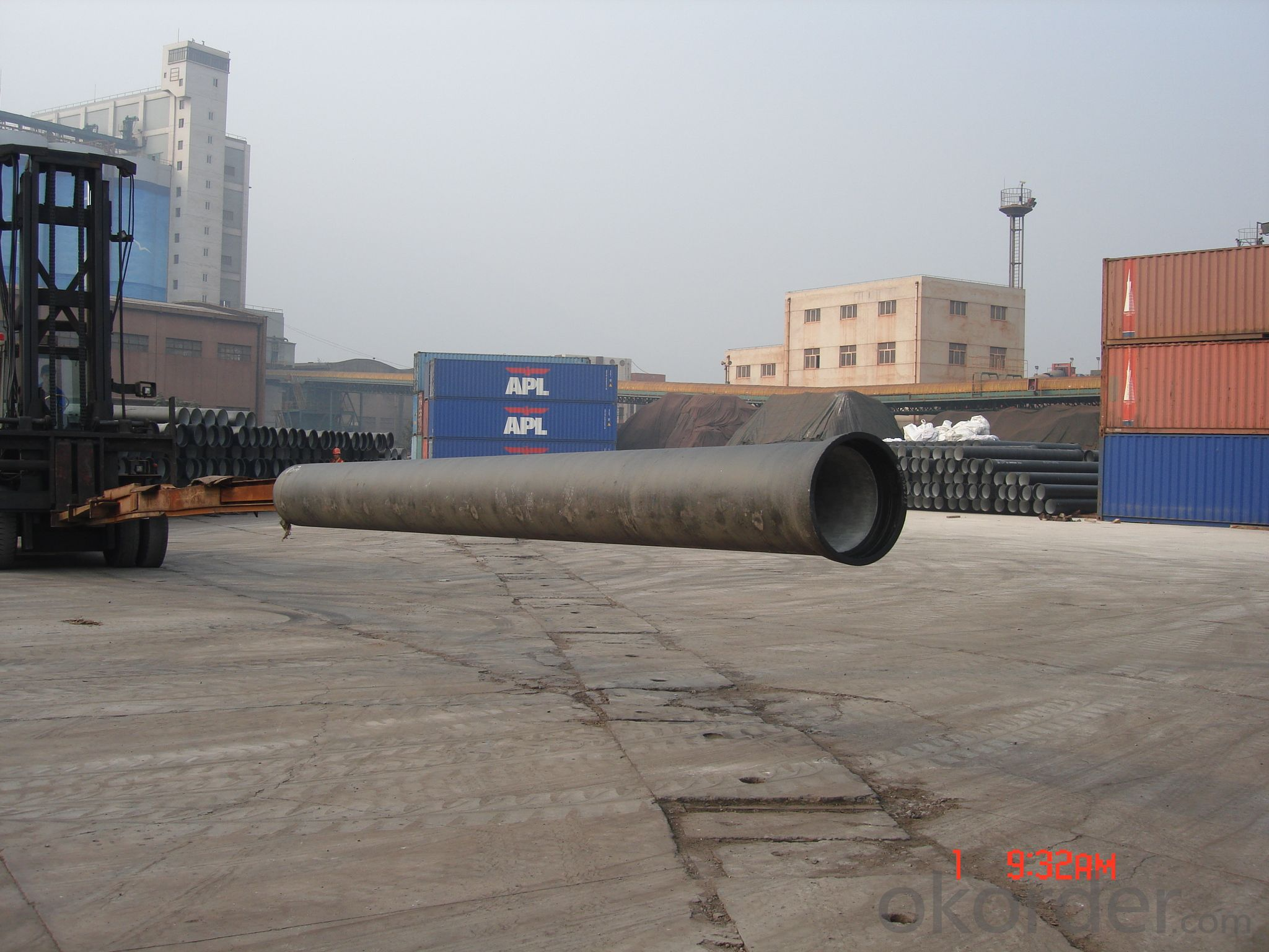 DUCTILE IRON PIPE AND PIPE FITTINGS C CLASS DN800