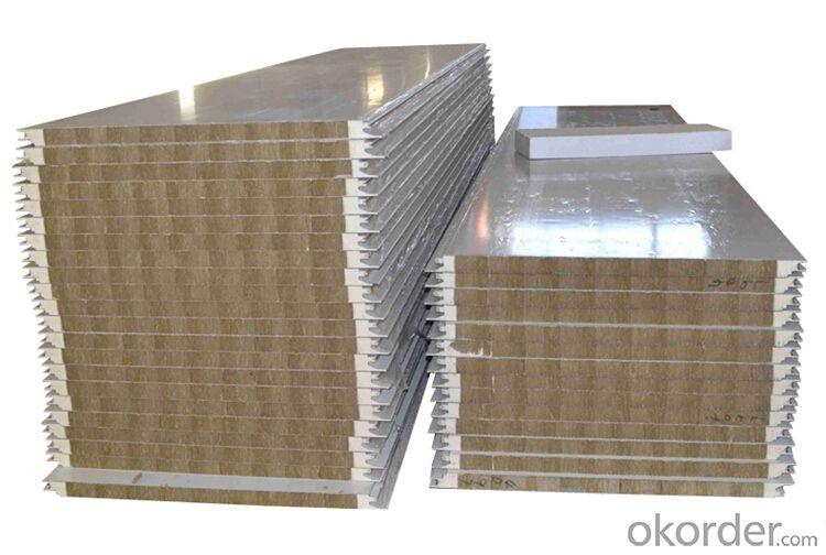 Rockwool Sandwich Panel for Prefabricated House