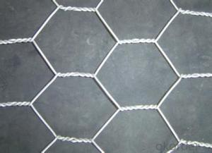 Galvanized Hexagonal Wire Mesh 0.88 mm Gauge