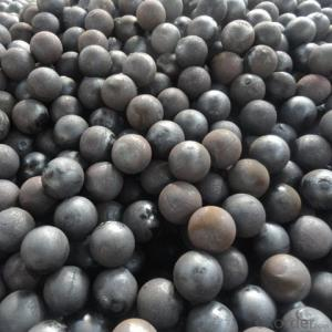 Ball Mill Grinding Media With Chrome Iron Materials From Ningguo,China