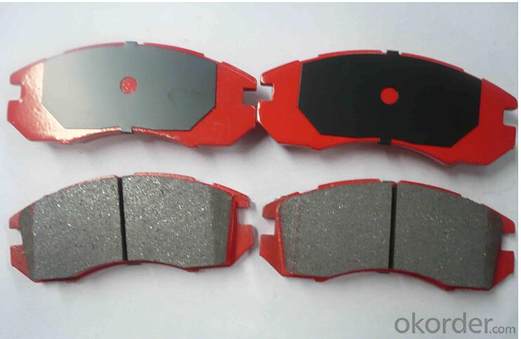 Brake Pad WVA20217 Ceramic or Semi-metallic D1263-8380