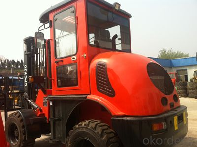 3.5T Rough Terrain Forklift