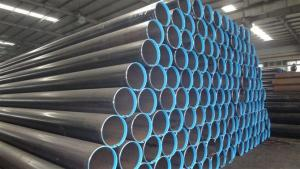 API 5L/ASTM A53 ERW Steel Pipe with Best Quality