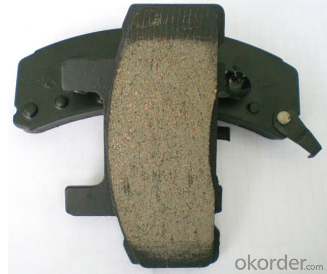 Auto Part Semi-Metal Car Brake Pad