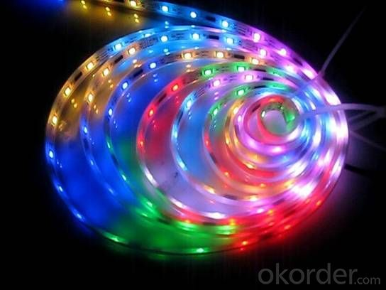 Led Strip Light DC 12/24V / 5V  SMD 5050 RGB  60 LEDS PER METER OUTDOOR IP65 PU GLUE